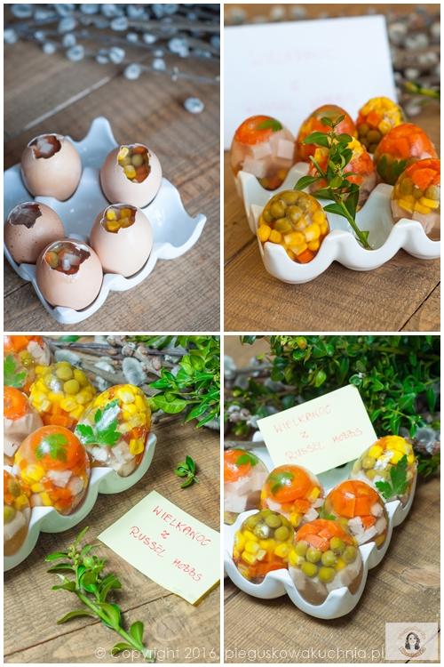 galareta w jajkach
