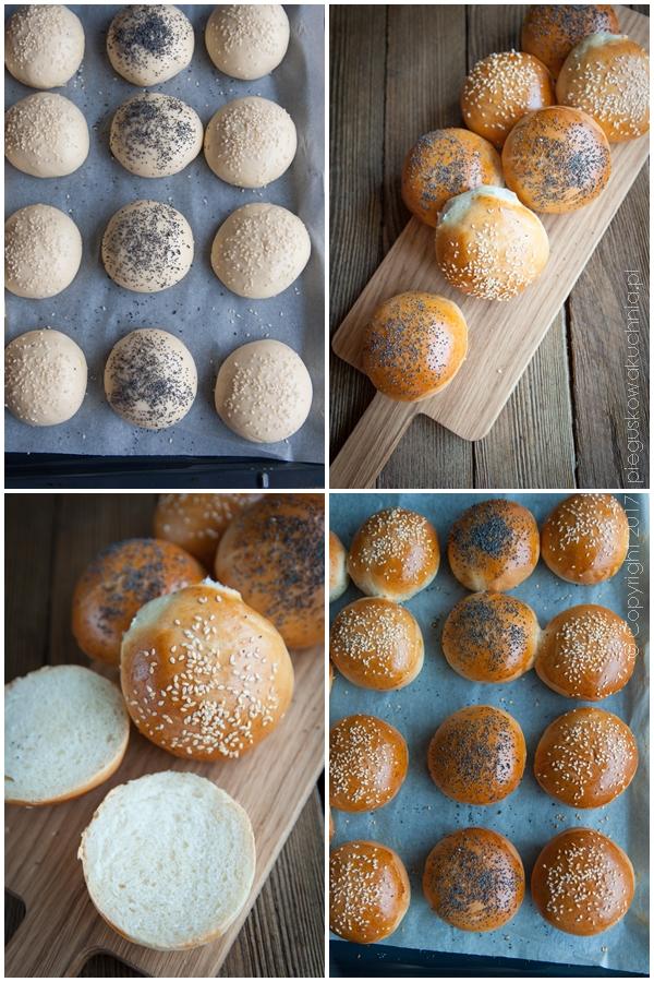 bułki śniadaniowe, bułki drożdżowe, bułeczki na śniadanie, bułki z makiem, domowe bułki